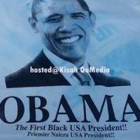 Orang Ramai Pelik Beg Plastik Berlogo Gambar Obama Bersepah Di Kuantan