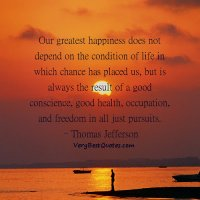 Our Greatest Happiness