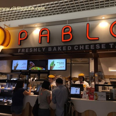 Pablo The Cheese Tart Di 1utama Old Wing Sedap Wei