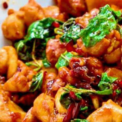 Pad Kra Pow Gai Thai Basil Chicken
