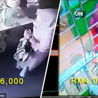 Pagi Curi Beg Peniaga Berisi Rm6 000 Petang Curi Rantai Emas Bernilai Rm4 000