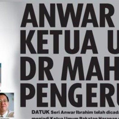 Pan Lobi Dr Mahathir Jadi Pengerusi Pakatan Harapan