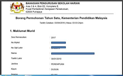 98 Pendaftaran Murid Darjah 1 Kuala Lumpur Kuala Darjah 1 Lumpur