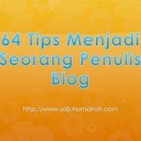 Pantang Bila Nak Tulis Blog
