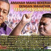 Parti Amanah Akan Kerjasama Dengan Mahathir Untuk Jatuhkan Najib