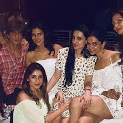 Parti Hari Jadi Shahrukh Khan Dipenuhi Wanita Cantik Dan S3 Ksi