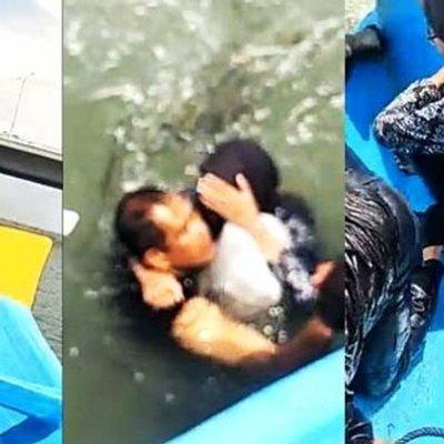 Patutkah Polis Bantuan Diserang Netizen Selepas Selamatkan Wanita Terjun Jambatan