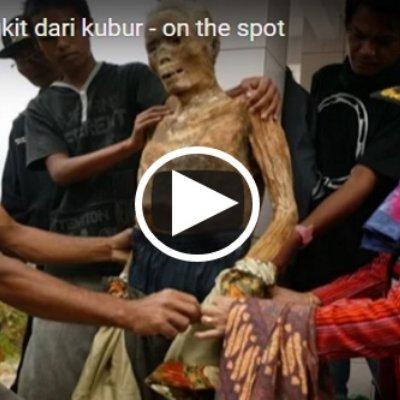 Pelik Tapi Benar Video Ini Memaparkan 7 Jenazah Bangkit Semula Dari Kubur Selepas Pemujaan