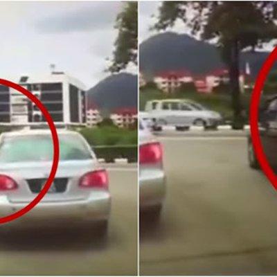 Pemandu Kereta Tak Sabar Nak Masuk Simpang Penunggang Motosikal Yang Menjadi Mangsa
