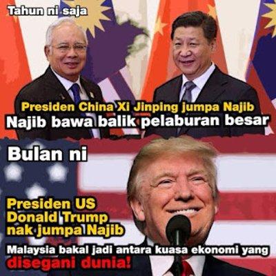 Pembangkang Kerisauan Bila Najib Upaya Imbangi Kuasa Besar