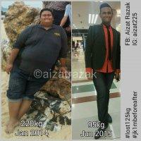 Pemuda Ini Berkongsi Bagaimana Beliau Turun 125kg Dalam 18 Bulan Ini Akan Memotivasikan An...