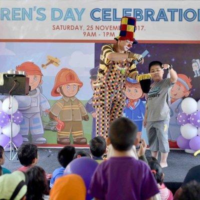 Pengalaman Dayyan Ke Demc Children S Day Celebration 2017 Meriah Havoc