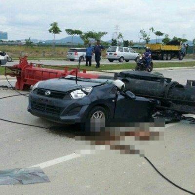 Pengendali Kren Tak Kompeten Punca Kemalangan