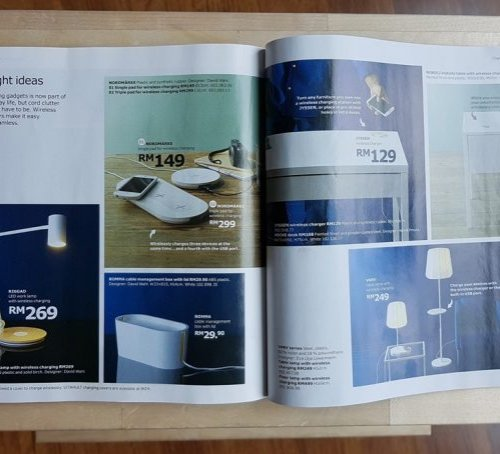 Perabot Ikea Dengan Pengecas Tanpa Wayar Terbina Memasuki Pasaran Malaysia