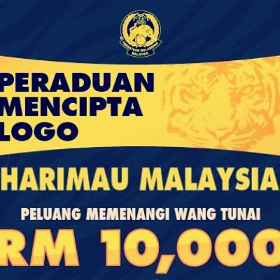peraduan cipta logo harimau malaysia menang rm10 000