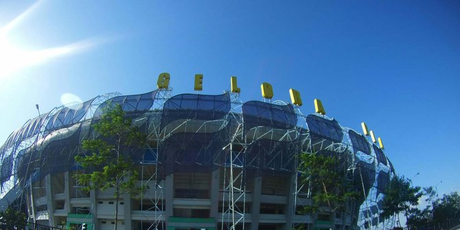 Perbaikan Rumput Stadion Gbla Hampir 100 Persen Rampung