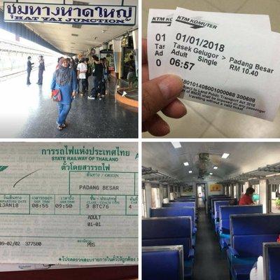 Percutian Ke Thailand Menaiki Keretapi Bersama Anak Anak Murah Dan Santai Untuk Keluarga