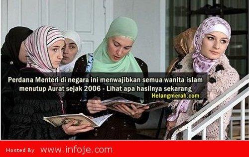 Perdana Menteri Di Negara Ini Menwajibkan Semua Wanita Islam Menutup Aurat Sejak 2006 Lihat Apa Hasilnya Sekarang