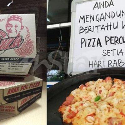 Perghhh Lelaki Sanggup Mengaku Hamil Gara Gara Tular Pizza Percuma