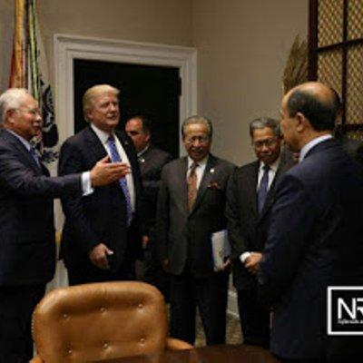 Perjumpaan Najib Trump Tanda Isu 1mdb Dipolitikan Pembangkang Berkubur Najibrazak
