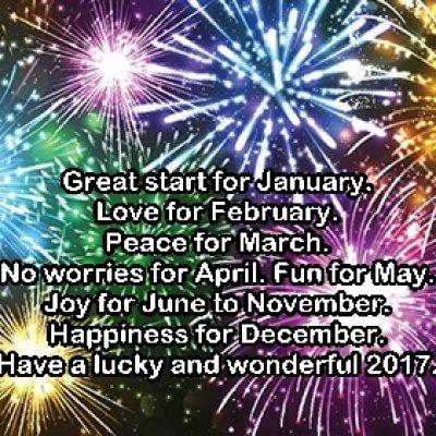 Permulaan Tahun Baru 2017 Yang Kurang Baik
