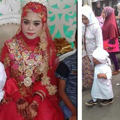 Pernikahan Meriah Si Kerdil Dan Si Cantik
