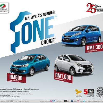 Perodua Promotion April 2018
