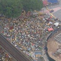 Peserta Demo Bersih4 Lari Tinggalkan Dataran Merdeka