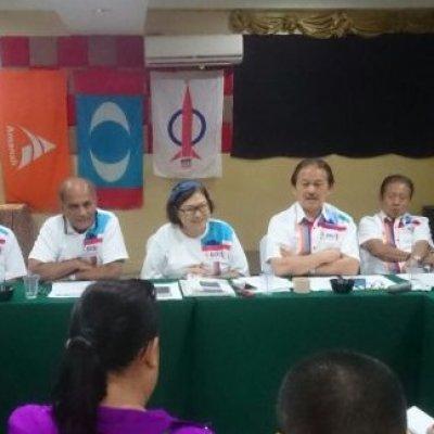 Ph Sabah Dilancar 8 Januari Umum Agenda Pakatan Harapan Sabah