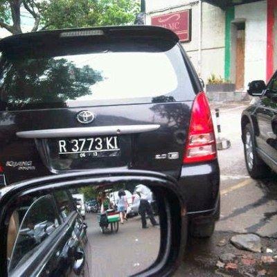 Plat Nomor Lucu Dan Unik Kendaraan Indonesia