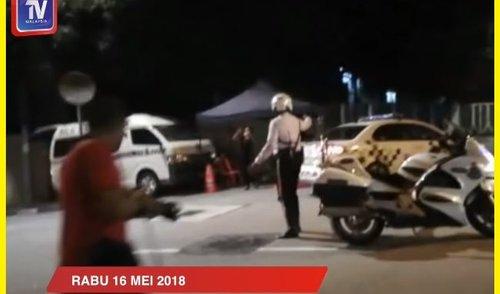 Polis Serbu Kediaman Bekas Perdana Menteri Datuk Seri Najib Razak Di Taman Duta