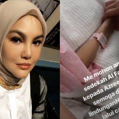 Prihatin Azreen Kritikal Umie Aida Mohon Doakan Sahabat Baiknya