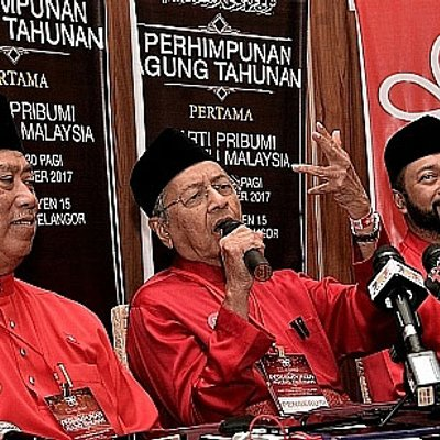 Pru 14 Mahathir Dakwa Peluang Menang Cerah Jangan Mimpilah Madey Takut Takut Ph Lagi Kalah Teruk