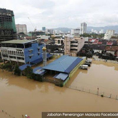Pulau Pinang Banjir Dah Korbankan 7 Orang