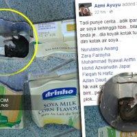 Punca Susu Soya Perisa Tikus Terjawap