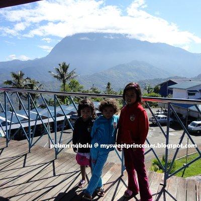 Puncak Kinabalu Dari Pekan Nabalu
