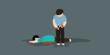 Rebutan Penumpang Tukang Becak Digorok Kakak Kandung Sendiri