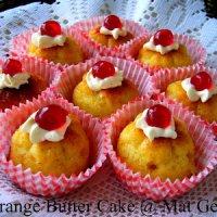Resepi Cara Buat Orange Butter Cake