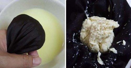 Resepi Dan Cara Buat Cheese Di Rumah Hanya Guna Susu Tepung Amp Hasilnya Wow