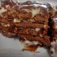 Resepi Kek Batik Lapis Keju