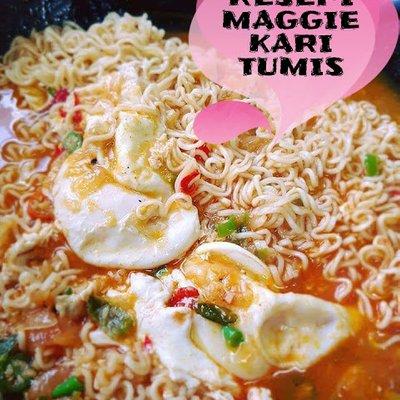 Resepi Maggie Kari Tumis