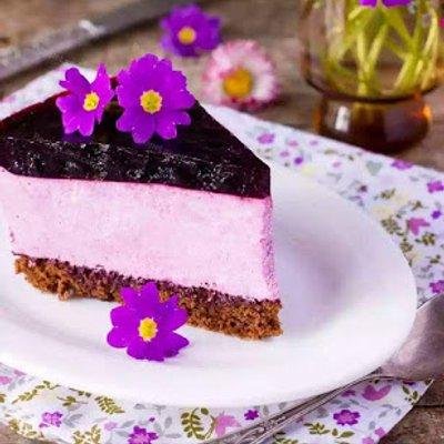Resepi No Bake Blueberry Cheesecake