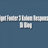Responsive Widget Footer 3 Kolom
