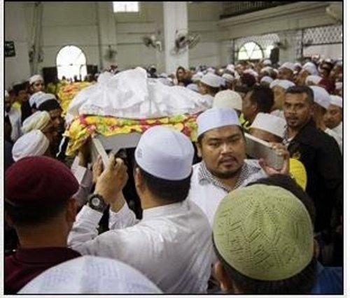 Ribuan Hadir Solat Jenazah Allahyarham Dr Fadi Mohammed