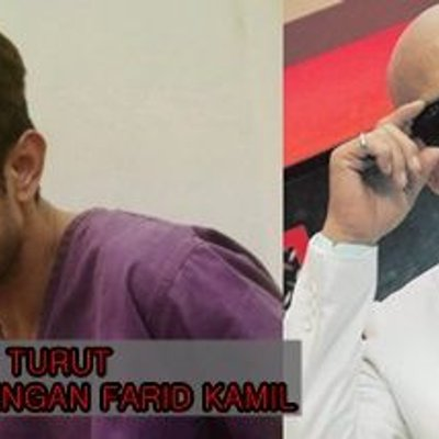 Ridzuan Hashim Juga Kena Tampar Dengan Farid Kamil
