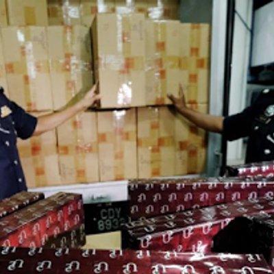 Rokok Seludup Bernilai Rm694 000 Di Rampas Pasukan Polis Marin Kuantan