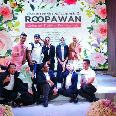 Roopawan Majlis Pelancaran Portal Membeli Belah Atas Talian Pertunjukan  Fesyen Lebaran 2017 85792de08d