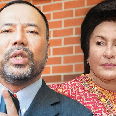 Rosmah 1mdb Apply To Strike Out Pink Diamond Suit