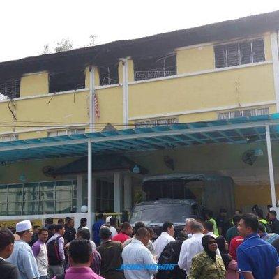 Saksi Dengar Jeritan Mangsa Kebakaran Pusat Tahfiz Takziah
