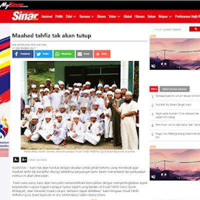 Salah Foto Isu Liwat Pengetua Tahfiz Akan Saman Siakap Keli